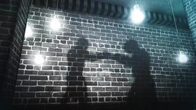 Back alley shadow boxers 4k loop