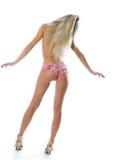 Back and ass of beautiful woman. Stock Photos