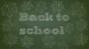 back background chalkboard school to 免版税库存照片