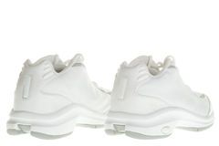 Back of basketball sneakers Stock Image