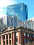 Back Bay. Buildings in Boston's Back Bay royalty free stock images