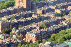 Back Bay apartment in Boston, USA Stock Image