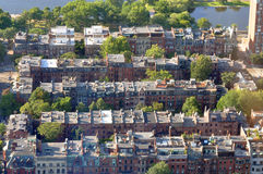 Back Bay apartment in Boston, USA Royalty Free Stock Photo