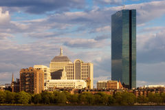 Back Bay Boston Royalty Free Stock Image