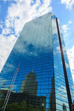 Back Bay John Hancock building in Boston, Massachusetts Royalty Free Stock Images