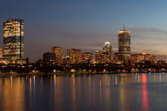 Back Bay skyline Stock Photos