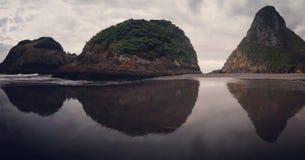 Back Beach New Plymouth Taranaki New Zealand royalty free stock image