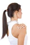 Back of beautiful brunet Royalty Free Stock Image
