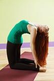 Back bending woman Royalty Free Stock Photo
