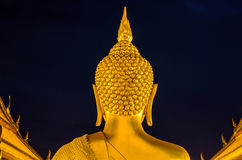 Back Bhudda Head Stock Image