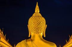 Back Bhudda Head Stock Image