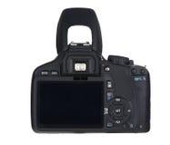 Back of  black camera Royalty Free Stock Image