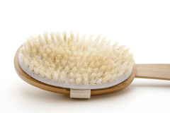 Back brush with bristles Royalty Free Stock Images