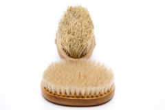 Back brush with bristles Stock Images