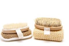 Back brush with sponge Royalty Free Stock Photo