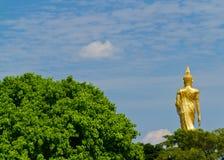 Back of buddha Royalty Free Stock Photography