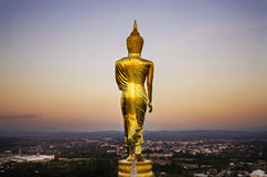 The back of the Buddha Royalty Free Stock Images
