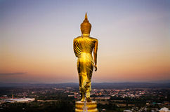 The back of the Buddha Royalty Free Stock Photography