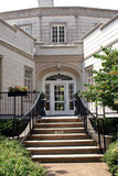 Back of Burritt Mansion Built in 1935. Burritt Mansion was built in 1935 by Dr. Burritt on top of Monte Sano Mountian in Huntsville, Alabama. It is a museum royalty free stock image