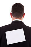 Back of businessman Stock Images