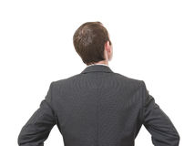 Back of businessman Royalty Free Stock Photography