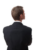 Back of businessman Royalty Free Stock Images