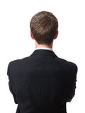 Back of businessman Stock Image