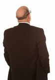 Back of businessman Stock Photo