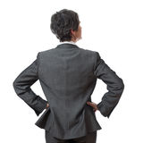 Back of businesswoman Royalty Free Stock Images