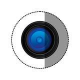 Back camera lense icon Stock Photos