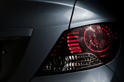 Back car Lights. Close-up of Back car Lights Royalty Free Stock Images