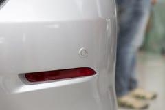 back car sensor for safety parking Stock Photography