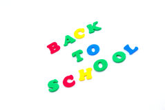 back colorful school to Royaltyfria Bilder