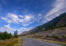 Back Country Road Royalty Free Stock Photos