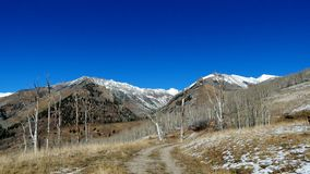 Back Country road near Telluride Stock Photos