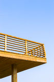 Back Deck Stock Photography