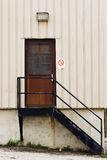 Back Door Royalty Free Stock Photography