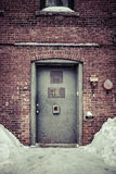 Back door alley way Royalty Free Stock Photography
