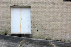 Back door exit Stock Photography