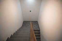 Back door staircase Stock Image