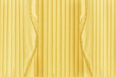 Back Drop of Yellow Curtains or Drapes Stock Photography
