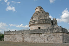 Back of El Caracol Royalty Free Stock Images