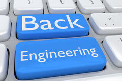 Back Engineering concept Stock Images