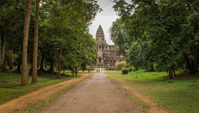 Back entrance of Angkor Wat, Stock Images