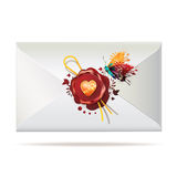Back of envelope Stock Photos