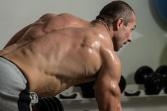 Back Exercise Stock Photos