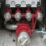 Back Of Fire Engine Stock Images