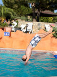 Back flip Royalty Free Stock Image