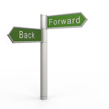 Back or forward Stock Photos