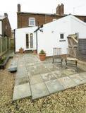 Back garden Stock Image